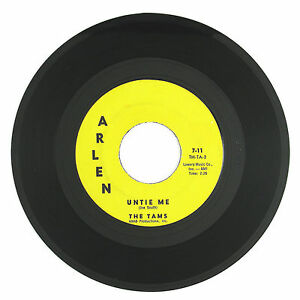 TAMS Untie Me/Disillusioned 7IN (1962) (NORTHERN SOUL) VG++  LISTEN!!!!!