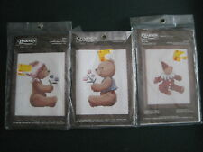 "NEW ""3"" CHARMIN NEEDLEPOINT KITS 40-17, 40-8  Bearbo,Maurice Bear,Brigitte Bear"