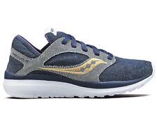 Saucony Women's Kineta Relay Denim Sneaker Blue Size 6.0