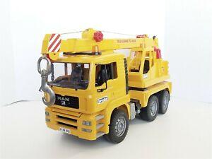 Bruder Man Tele-Crane TC-4500 TGA 41.440 Construction Toy