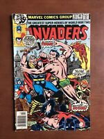 The Invaders #33 (1978) 6.5 FN Marvel Bronze Age Comic Book Thor App Dr Doom
