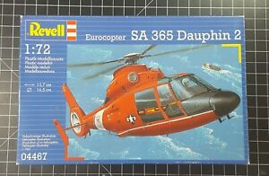 COMPLETE 1/72 REVELL Eurocopter SA 365 Dauphin 2