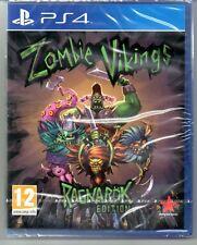 "Zombie Vikings RAGNAROK Edition ""New & Sealed"" * PS4 (Quatre) *"