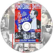 Pimpernel Smith -  Leslie Howard, Movie 1941 anti-Nazi thriller ,on DVD