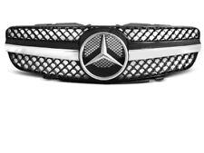 Grille calandre Mercedes SL R230 01-06 noir chrome