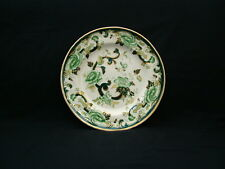 Mason's Patent Ironstone Chartreuse pattern Dinner Plates