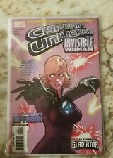 CAPTAIN UNIVERSE INVISIBLE WOMAN (2005) #1 VF/NM GLADIATOR 1 MARVEL COMIC