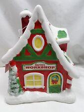 2012 Hallmark Santa's Workshop 1st North Pole Village Collector Series