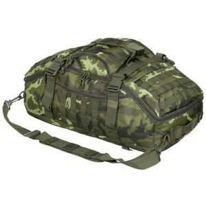 MFH® Tactical Shooters Range Transport Travel Bag 48L M95 Czech Army Camo - New