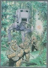 Star Wars Return Of The Jedi Ewok Concept Art Postcard Wholesale Pack One New