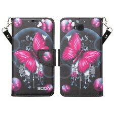 For Huawei Ascend XT Phone Case Hybrid PU Leather Wallet Card Pouch Flip Cover