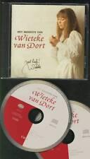 WIETEKE VAN DORT Het Mooiste Van 2-CD  HAND-SIGNED TANTE LIEN INDONESIA