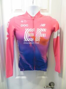 2020 RAPHA EF Pro Cycling Team Long Sleeve Midweight Jersey Small S Pink Jacket