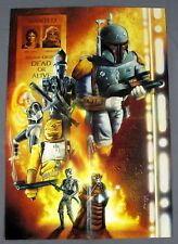"1996 Star Wars Predators for Hire Bounty Hunter Poster 14x20"" Art Jason Palmer"