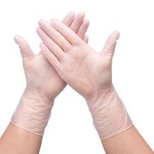 100pcs Medical Vinyl Examination Gloves Disposable PVC Gloves Anti-static Gloves