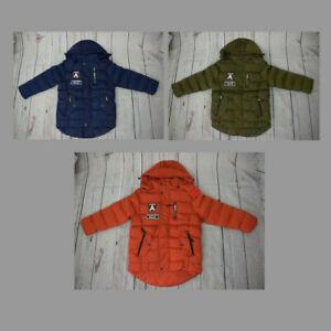 Kinder Winterjacke Neu Kinder Parker Jungen Anorak Mädchen Anorak Skijacke Jacke