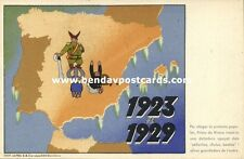 Spanish Civil War, Caricature, Coup by Dictator Miguel Primo de Rivera 1923-1929