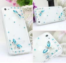 Glitter Luxury Crystal Bling Rhinestone Diamonds Soft Silicone Case Cover AG-3