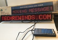 The Moving Message Electronic Display Sign   HI-LITE   DYNASTY