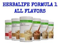 Herbalife Formula 1 Healthy Meal Shake All Flavors!   Cup for Shakes -NEW!!