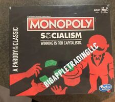 *DISCONTINUED* Monopoly Socialism Winning Is For Capitalists Game SEALED RARE!!