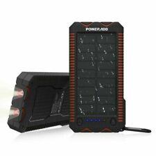 POWERADD Apollo 12000mAh Dual USB Tragbare Solar Ladegerät, Solar Powerbank