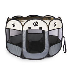 More details for portable pet playpen pop up play pen for small dogs, puppies & kittens pukkr