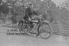 Ariel factory racer Sexe 1921 endurance race motorcycle photo photograph