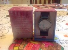 "Disney Mzb Princess Watch, ""Once Upon A Time"", Large, Rhinestone Accents, New"