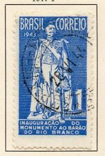 Brazil 1944 Early Issue Fine Used 1Cr. NW-17187