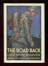THE ROAD BACK - Erich Maria Remarque 1st edition 1931 w/ dust jacket