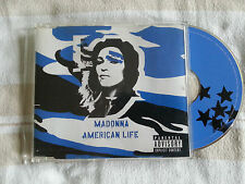 MADONNA - AMERICAN LIFE - GERMANY 3-Track Maxi CD Single - Blue Cover (2003)