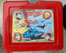 CAPTAIN SCARLET Lunchbox With Flask Gerry Anderson Vintage 1993