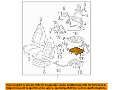 GM OEM Power Seat-Bottom Base Tracks Adjuster 19127221