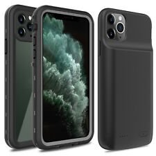 For iPhone 11 Pro Max Waterproof Dropproof Slim Case/Battery Fast Charging Cover