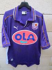 VINTAGE Maillot TOULOUSE FC TéFéCé PUMA 2000 OLA shirt signé dédicacé collection