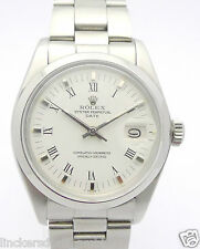 Rolex Oyster date-señores de acero inoxidable-cronómetro-Ref. 1500 de 1978