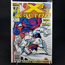 Marvel X-Factor 49 Archangel vs Iceman Judgement War