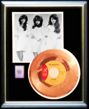 THE RONETTES BE MY BABY 45 RPM GOLD METALIZED RECORD RARE PHIL SPECTOR NON RIAA