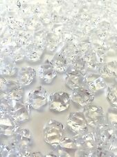 8 Lb. Crystal Acrylic Ice Rock Vase Gems or Table Scatters (Medium 2.5cm, Clear)