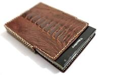 Genuine (Ostrich) Leather Pouch Case Cover for BlackBerry Passport