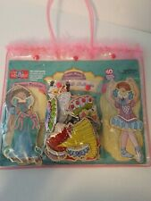 T. S. Shure Princess & Ballerina Wooden-Magnetic Dress Up Dolls 40 Pieces