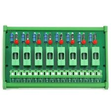 8 Chl Fuse Interface Module, for 100~250VAC, Din Rail Mount, with Fail Indicator