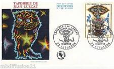 1966**ENVELOPPE-FDC 1°JOUR!!!**TAPISSERIE JEAN LURCAT**TIMBRE Y/T 1493