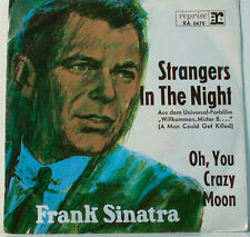 """FRANK SINATRA STRANGERS IN THE NUIT - OH, YOU CRAZY MOON [F268] 7""""SINGLES"""