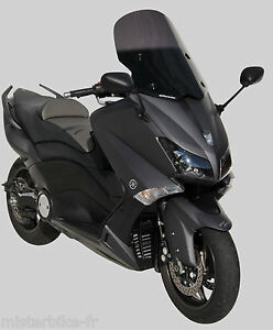 Pare brise scooter 55 cm TO kit visserie Ermax Yamaha 530 T MAX 2012/2016