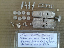 15mm Battle Honors WWII German Sdkfz 232 8 Wheel Armor Car