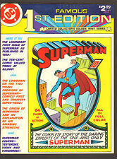 1979 Dc Comics Superman Famous First Edition Treasury Vf/Nm