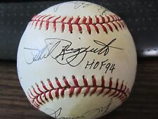 Major Leagues Stars Autograph Baseball by 11 players PSA/DNA Phil Rizzuto Foster