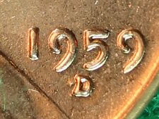 1959-D/D REPUNCHED MINTMARK (RPM) UNCIRCULATED LINCOLN HEAD CENT